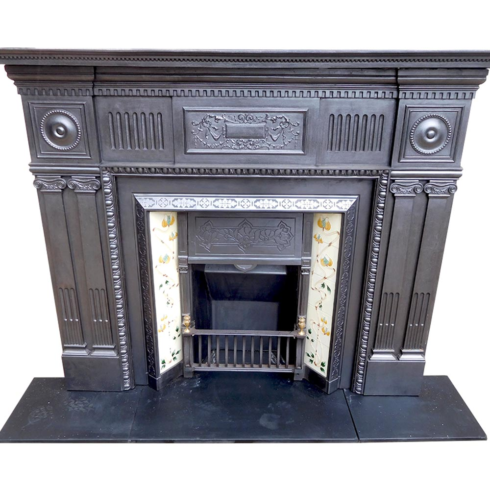 Antique Cast Iron Fireplace Surround Victorian Fireplace Store