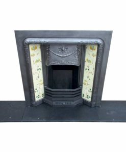 Antique Ornate Fireplace Insert