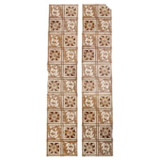 OT256 - Original Fireplace Floral Tile Set