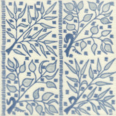 William Morris Blue Bough Fireplace Tile (ST053)