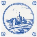 Church Fireplace Tile (ST096)