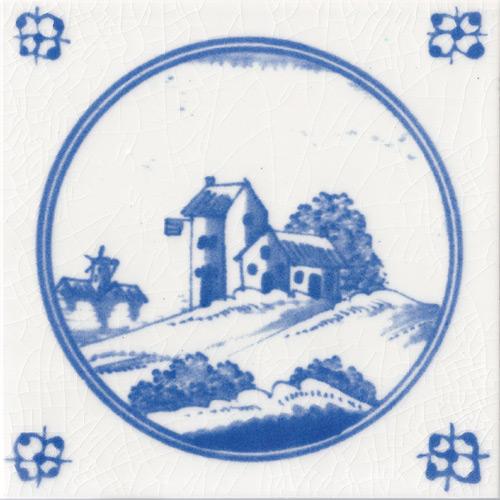 Countryside Inn Fireplace Tile
