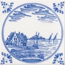 Dutch Water Design Tile (ST139)