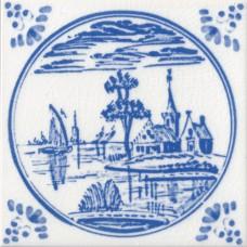 Dutch Delft Water Design Tile (ST140)