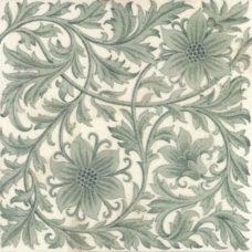 Mintons 1883 Floral Tile (ST158)