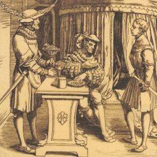 Mintons Albrecht Durer Tile (ST163)