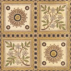 Printed & Tinted 1884 Booth Tile (ST166)