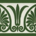 Anthemion Border Tile (ST209)