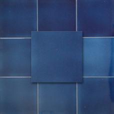 Victorian Dark Blue Tile (ST225)