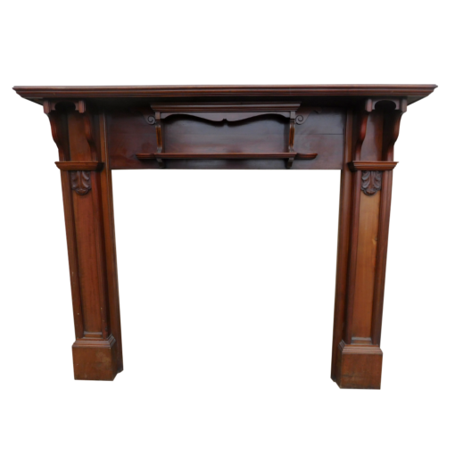 Victorian Mahogany Fireplace Surround