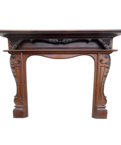 Edwardian Mahogany Fireplace Surround