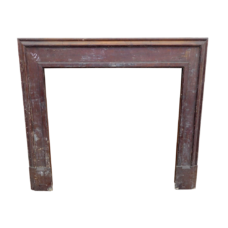 "TS079 - Pitch Pine Fireplace Surround (48""H x 48""W)"