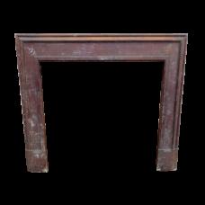 """TS079 - Pitch Pine Fireplace Surround (48""""H x 48""""W)"""