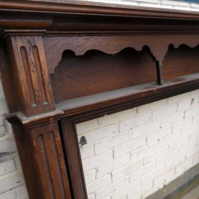 1930s Oak Fireplace Surround