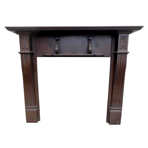 Antique Edwardian Mahogany Surround