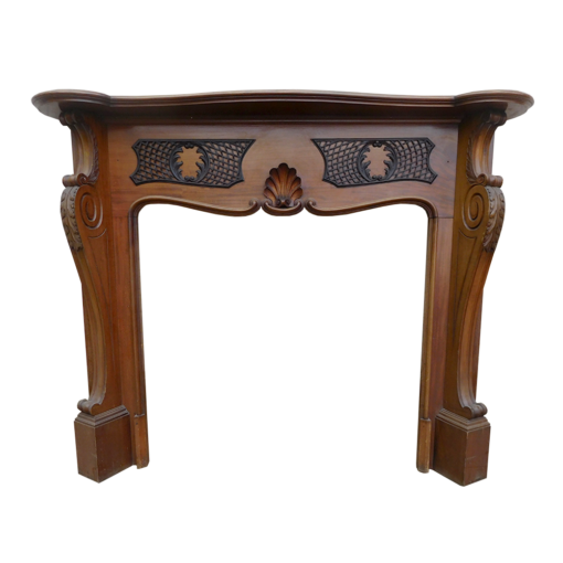 Antique Louis IV Mahogany Surround