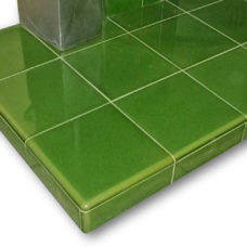 6x6 Inch Glazed Tiled Hearth - Pick Size/Colour
