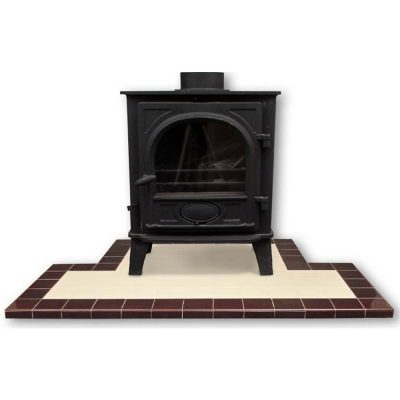 Glazed Tiled Hearth