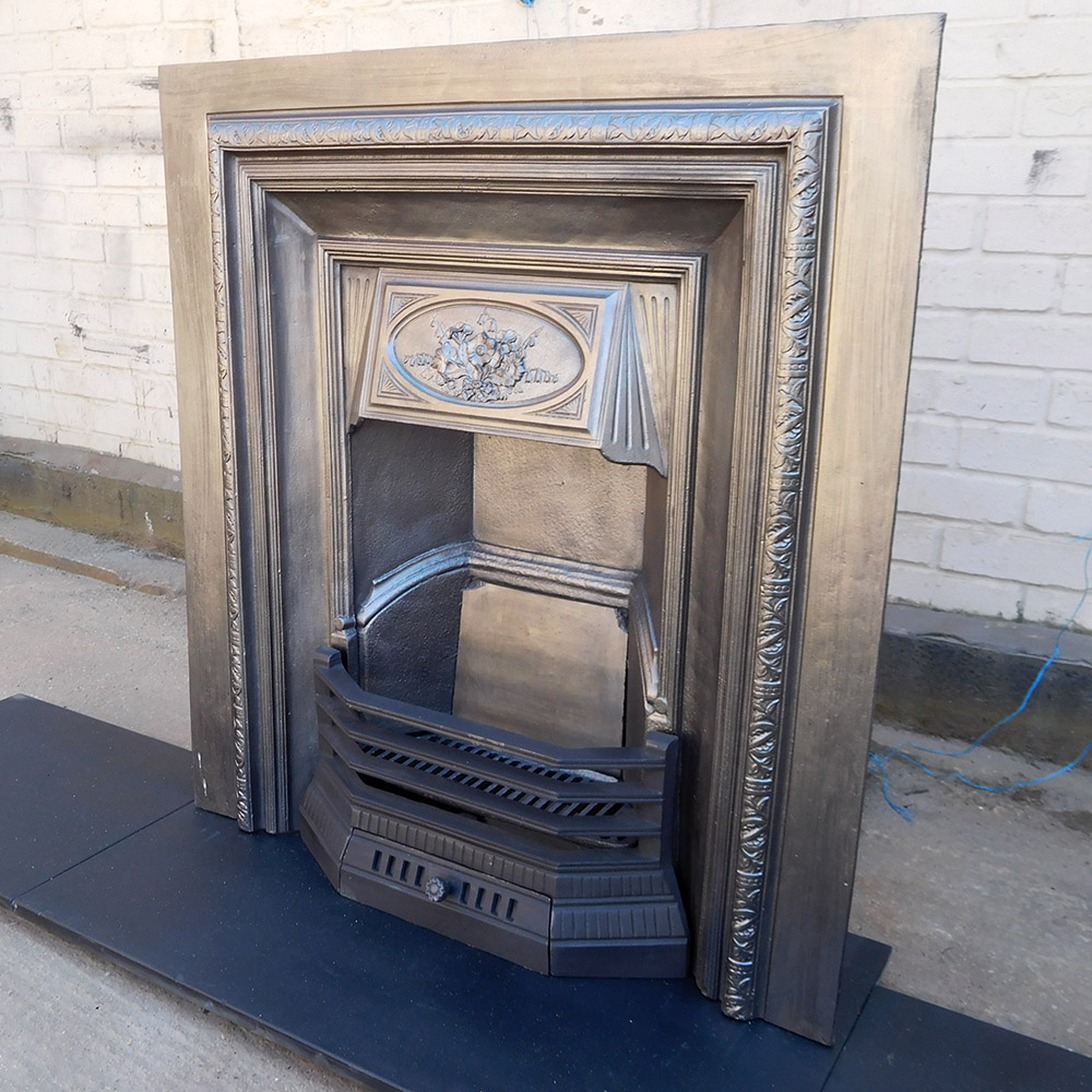 Fireplace Insert Original Antique