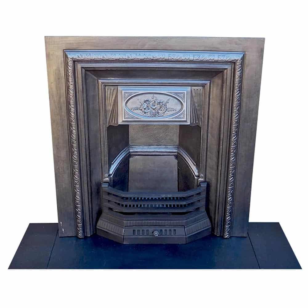 Antique Vintage Bedroom Fireplace: Fireplace Insert Original Antique