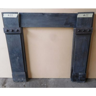 "Unrestored Simple Slate Surround - Available Restored (46""H x 50-54""W) (SS114)"
