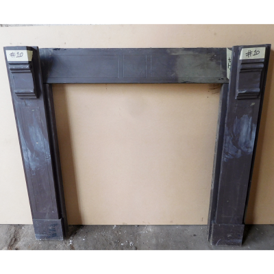 """Unrestored Plain Slate Surround - Available Restored (44.5""""H x 52-55""""W) (SS115)"""