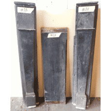 "Unrestored Tall Slate Surround - Available Restored (50""H x 56""W) (SS116)"