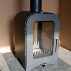 Vesta V4 Double Sided Woodburning Stove (4kW)