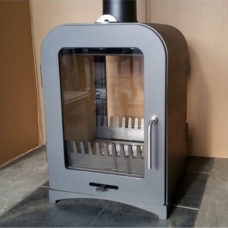 Vesta V8 Double Sided Woodburning Stove (8kW)