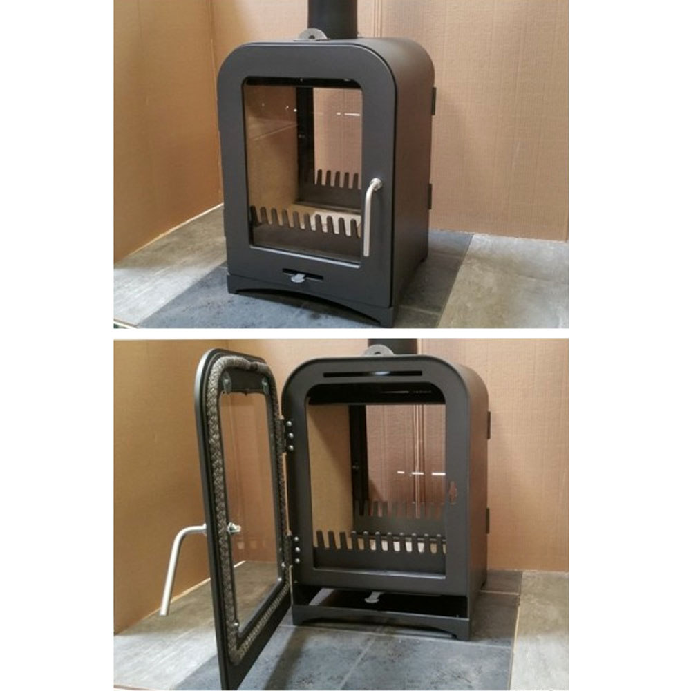 Vesta Double Sided Woodburning Stove Victorian Fireplace