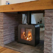 Vesta V12 Double Sided Woodburning Stove (12kW)