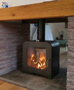 V12 Double Sided Woodburning Stove Victorian Fireplace Store
