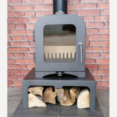 Vesta V2 Modern Wood Burning Stove (2kW)