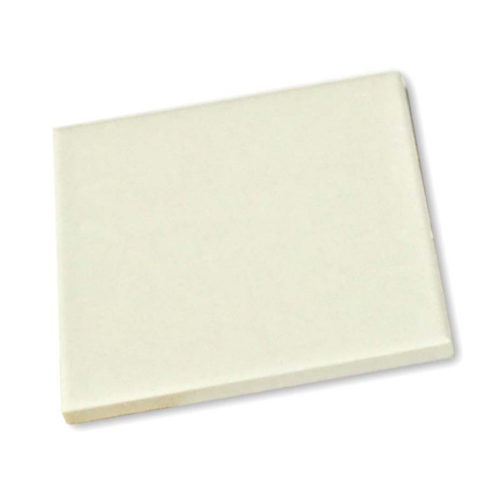 White Quarry Tile Hearth