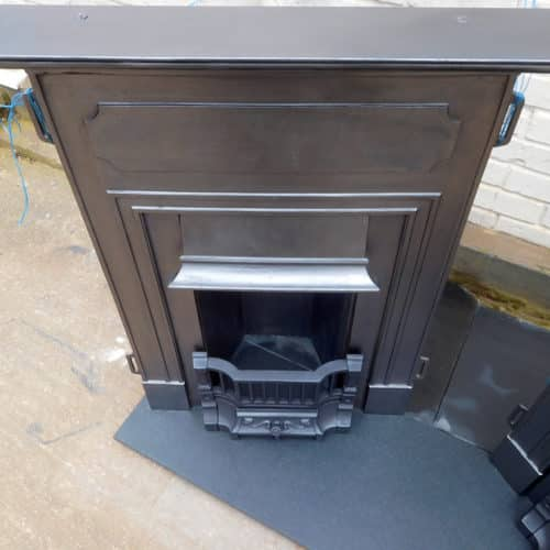 Pair Of Edwardian Bedroom Fireplaces
