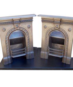 Vintage Bedroom Fireplace Pair
