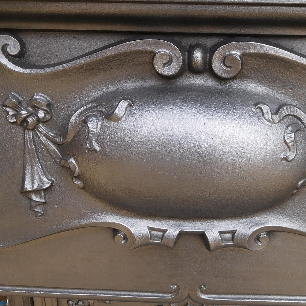 Cast iron edwardian combination fireplace victorian