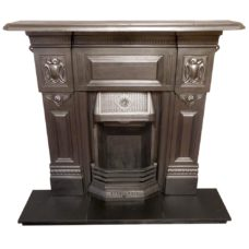 "COMBI300 - Cast Iron Victorian Combination Fireplace (47.25""H x 48.5""W)"