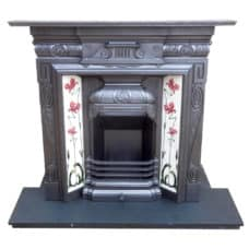 "COMBI305 - Detailed Combination Fireplace (44.5""H x 45.5""W)"
