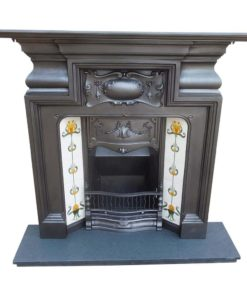 Cast Iron Edwardian Combination Fireplace
