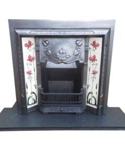Art Nouveau Fireplace Insert
