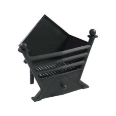 FB053 - Gallery Art Deco Cast Iron Fire Basket