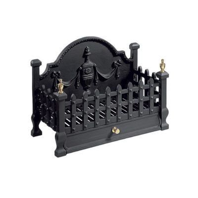FB055 - Gallery Castle Cast Iron Fire Basket