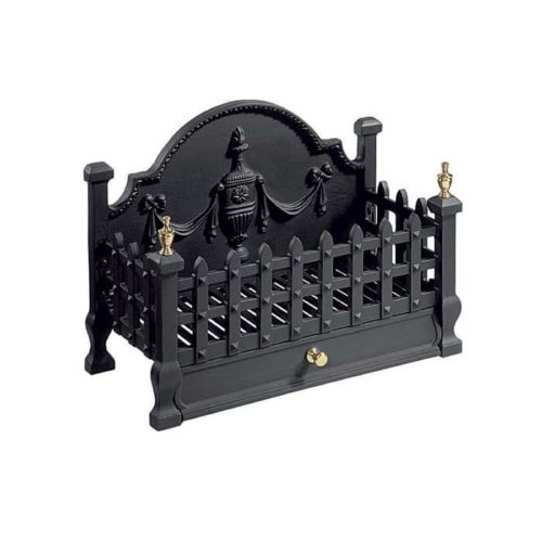 Gallery Castle Cast Iron Fire Basket