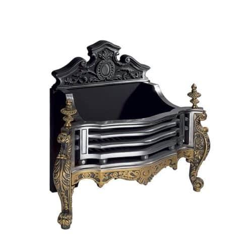 Gallery Cast Iron Queen Anne Fire Basket