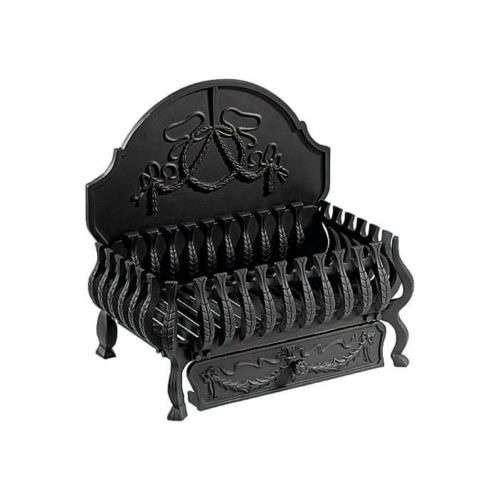 FB067 - Gallery Valencia Cast Iron Fire Basket (3 Sizes)
