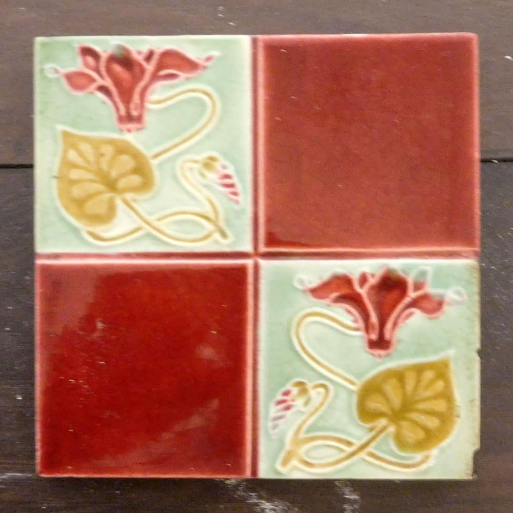 Square Pattern Antique Fireplace Tiles Buy From Vfs