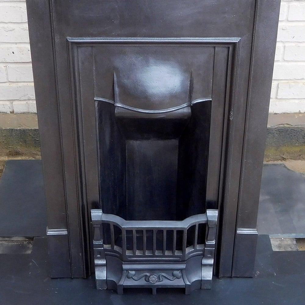 Antique Vintage Bedroom Fireplace: Original Antique Plain Bedroom Fireplace