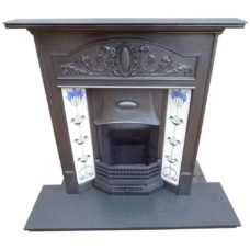 "COMBI309 - Late Edwardian Combination Fireplace (46""H x 42""W)"
