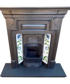 Simplistic Combination Fireplace